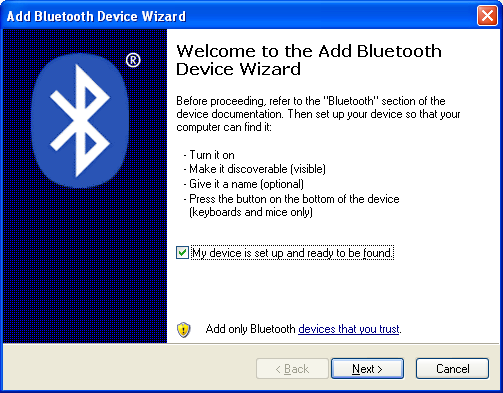 Bluetooth Wizard