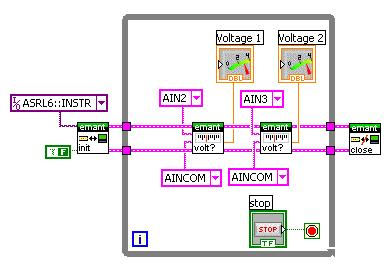 LabVIEW Multiple Analog Inputs